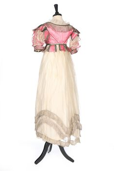 Fripperies and Fobs — Evening dress or fancy dress, 1820′s From Kerry...