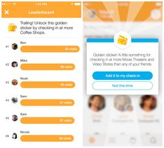 Swarm now starting to get retired Foursquare features. Decidedly difficult to tell whether or not this is a game.