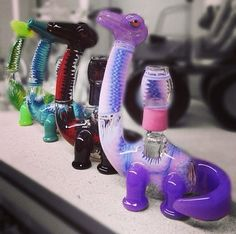 Elbo x Natey Dino Zipper Collabs - Absolutely Incredible! #fuzionglassgallery #headyglass