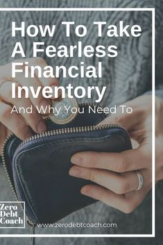 "Do you know how much money you have, earn and/or owe? If the answer is not a resounding ""yes"" to all three, it's time to do a financial inventory. Now, I know the thought of ""getting it all together"" can be completely overwhelming, so let's address that u"