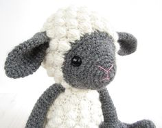 PATTERN: Sheep Amigurumi lamb Crochet tutorial by KristiTullus