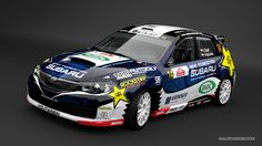 Subaru Czech Duck Racing Team - Vojtěch Štajf (Subaru Impreza Sti) - design for season 2013.