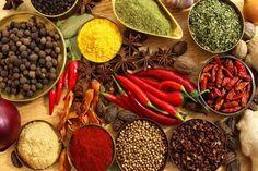 Küche in Indien