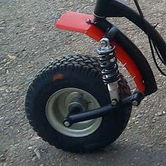 Самокат с мотором фото Motorcycle Trailer, Motorcycle Bike, Eletric Bike, Kart Cross, Go Kart Parts, Tricycle Bike, Bike Magazine, Reverse Trike, Drift Trike