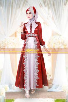 Bruklad cornelli,satin metalic dan shimmer exclusive kami pilih sebagai bahan Rj 011. Dress dg design simpel tp tetap memancarkan kemewahan ...yuk lihat http://gamispesta.net/gamis-pesta-rajna-011-marun-grey.html
