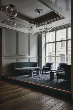 Novo endereço revela décor retrô e luxuoso