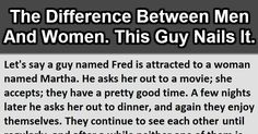 The Difference Between Men And Women. This Is AWESOME!