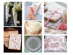 Classy doily decor! Event Ideas, Party Ideas, Easter 2013, Red Sparrow, Wedding Inspiration, Wedding Ideas, Vintage Easter, Repurposing, Doilies