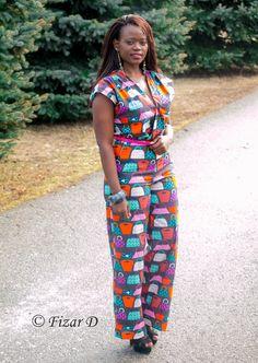 That Colourful Jumpsuit