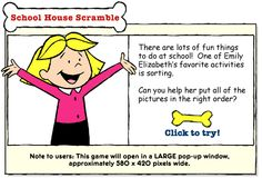 activities on clifford website - retelling