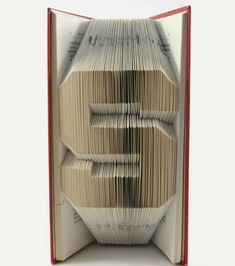 Photo extraite de Il crée des lettres en relief en pliant les pages d'un livre ! (14 photos)