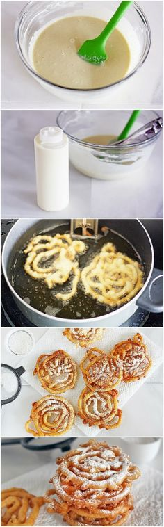 Wonder Nice Photos: DIY Mini Funnel Cakes