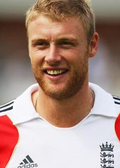 Hero … Andrew Flintoff.