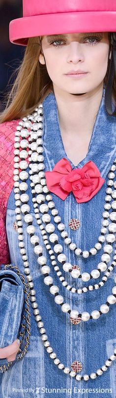 Chanel Pearls Spring 2016