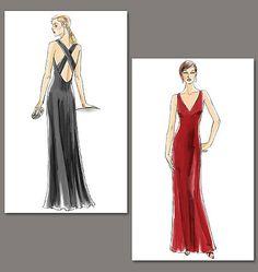 V8358 Misses' Dress | Very Easy www.sewingavenue.com