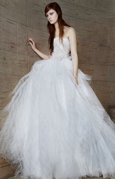 Vera Wang Spring 2015 Bridal Collection - Vera Wang from #InStyle