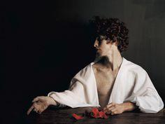 "gnossienne: """"Vangelis Kyris, ""Vanity"" from Sins "" Photo Reference, Drawing Reference, Looks Party, Jean Valjean, The Secret History, Foto Art, Greek Gods, Greek Mythology, Portrait Photography"