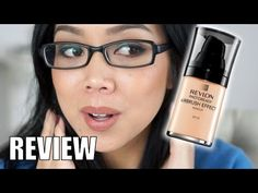 Revlon Photoready Airbrush Effect Foundation First Impression Review - i...