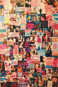collage wall room aesthetic 90s grunge vsco posters bedroom polaroid collages decor teen vines mural teenager schlafzimmer decoration lights fairy