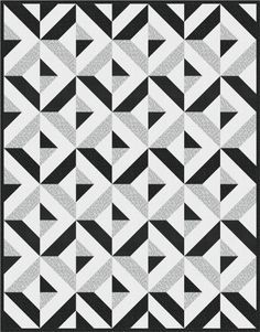black and white modern quilts - Google Search