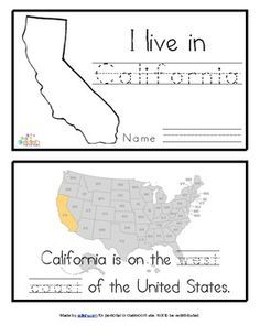 Learn about california with free printable workheets california california state symbols booklet altavistaventures Gallery