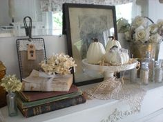 A Shabby Moment in Time: A Giveaway and Fall Touches