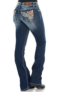Grace in LA Women's Dark Wash with Aztec Embroidery Boot Cut Easy Fit Jeans High Rise Bootcut Jeans, Jeans Fit, Kevlar Jeans, Miss Me, Paisley Embroidery, Summer Outfits, Cute Outfits, Wild Style, Shopping