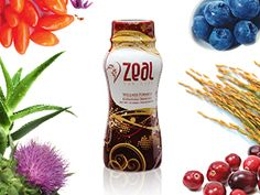 Product Zeal Wellness is an all-in-one, natural, nutritional blend that gives you the most bang for your nutritional buck. In fact, it would take 56 different pills to give you the nutritional value of one six-ounce serving of Zeal. ZealQueen.com