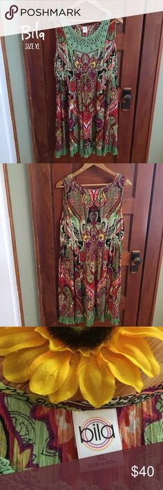 Hippie Paisley Dress Very good condition. Super light and flowy material. Adorable little frill at the bottom. Very beautiful green crocheting up top. If you would like me to measure it for you, just comment down below. Not Free People. 100% Rayon Free People Dresses Midi