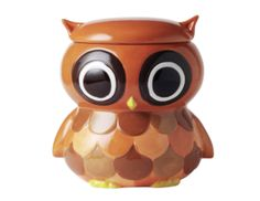 CERAMIC OWL COOKIE JAR http://buyapothecaryjars.com/owl-cookie-jar/ #owl #cookie #jar #apothecary