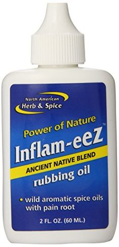 North American Herb and Spice Inflameez Oil 2Ounce -- Be sure to check out this awesome product affiliate link Amazon.com