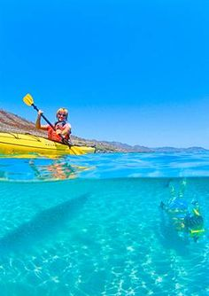 Baja...sea kayaking..Sea of Cortez and Conception Bay