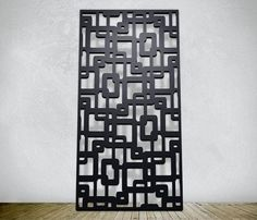 Laser cutting stianless steel for wall panel decoration.