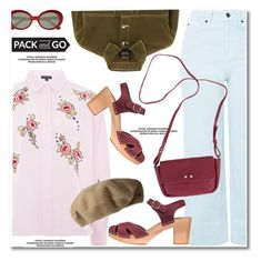 """""""Pack and Go: Paris Fashion Week"""" by paculi ❤ liked on Polyvore featuring Topshop, Lauren Ralph Lauren, Yves Saint Laurent, parisfashionweek and Packandgo"""