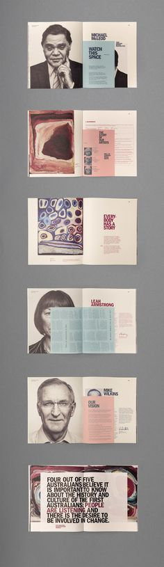 IAG Reconciliation Action Plan by Jason Little, via Behance #grafica #impaginato