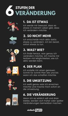 Coaching, Feel Good, Good To Know, German Language Learning, Learn German, Mind Tricks, Better Life, Self Improvement, Positive Vibes