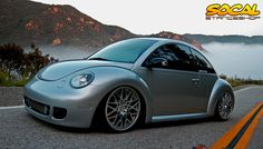 I've posted this beetle here before. It's my good friends Brandon from SoCal. It's on airbags, sitting JUST right.