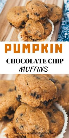 Healthy Snacks For Kids Healthy Pumpkin muffins with chocolate chips are a great fall healthy snack for kids - This is the best pumpkin muffin recipe that is healthy and kid approved! Easy to make for a healthy fall pumpkin recipe for breakfast or snack Best Pumpkin Muffins, Pumpkin Muffin Recipes, Pumpkin Chocolate Chip Muffins, Healthy Muffin Recipes, Healthy Snacks For Kids, Healthy Pumpkin Recipes, Healthy Pumpkin Bread, Dinner Healthy, Healthy Summer