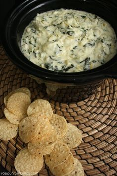 We make this spinach artichoke dip recipe all the time and people love it. the best party and tailgating recipe!