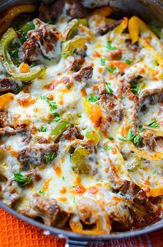 Low Carb Philly Cheesesteak Skillet Source by These low carb and Keto crockpot recipes are perfect for busy days since […] Beef Recipes, Cooking Recipes, Pizza Recipes, Keto Veggie Recipes, Chicken Recipes, Diabetic Recipes For Dinner, Dessert Recipes, Diabetic Meals, Healthy Recipes