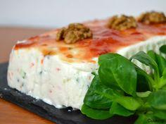 Cuuking! food, photography & fun: Pastel salado de queso Philadelphia y verduritas