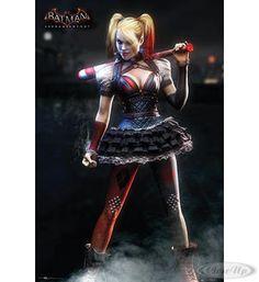 Batman Poster Arkham Knight Harley Quinn Hier bei www.closeup.de