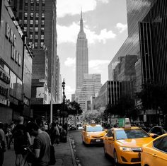 Photo de l'Empire State Building New York City par Brice Mercier