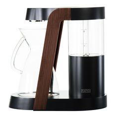 Ratio Eight - Dark Cobalt – Gear Patrol Store Commercial Coffee Makers, Commercial Coffee Machines, Coffee Brewer, Coffee Shop, Coffee Cups, Coffee Dripper, Automatic Coffee Machine, Premium Coffee, Natural Wood Finish
