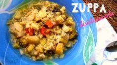 Zucchine sott'olio senza cottura - Cucinare chiacchierando Oatmeal, Veggies, Meat, Chicken, Breakfast, Food, Costume, Cooking, Vegetarian