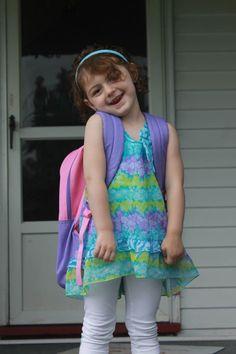 last day of first year of preschool