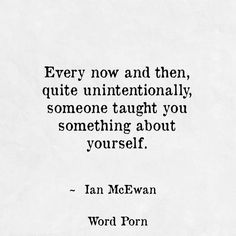 Quite unintentionally - Ian McEwan - quote - Word porn