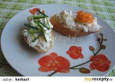 Hermelínka na bagetce recept - TopRecepty.cz Baked Potato, Potatoes, Baking, Breakfast, Ethnic Recipes, Food, Morning Coffee, Potato, Bakken