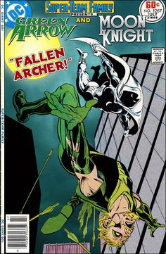 Super-Team Family: The Lost Issues!: Green Arrow and Moon Knight