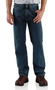 Carhartt Men's Relaxed Fit Straight Leg Jeans - Irregular